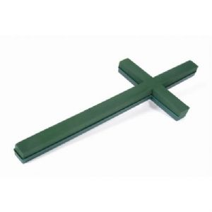 "PLASTIC BACKED CROSS 36"" x 2"